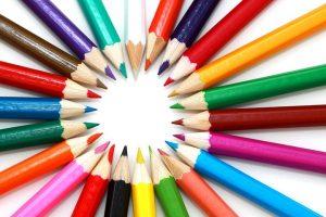 Kleuren potlood